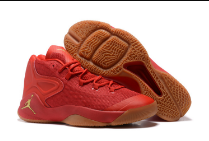 Men Jordan Melo 12 All Red Shoes