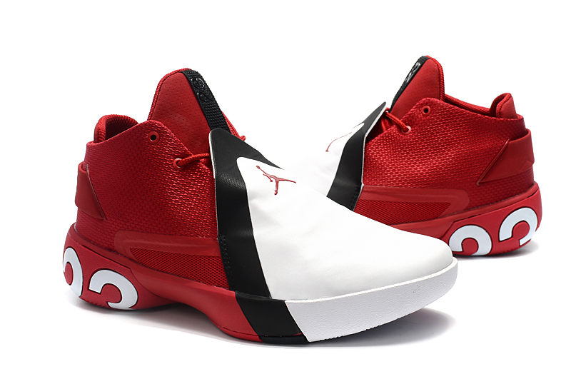 Men Jordan Ultra.Fly III Red White Black Shoes