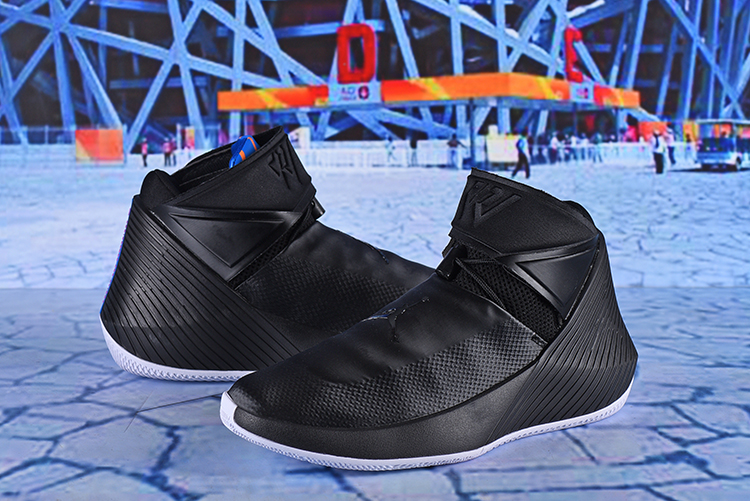 Men Jordan Why Not Zer0.1 Black White Sole Shoes