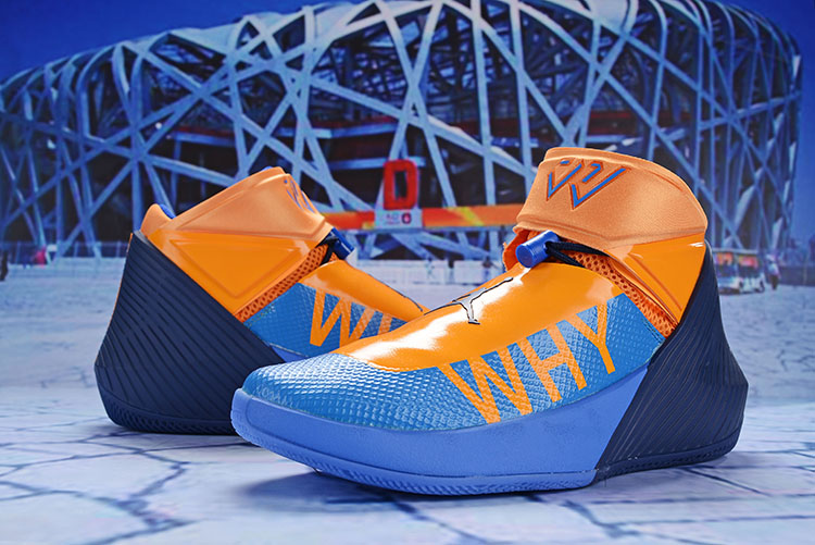Men Jordan Why Not Zer0.1 Orange Blue Shoes