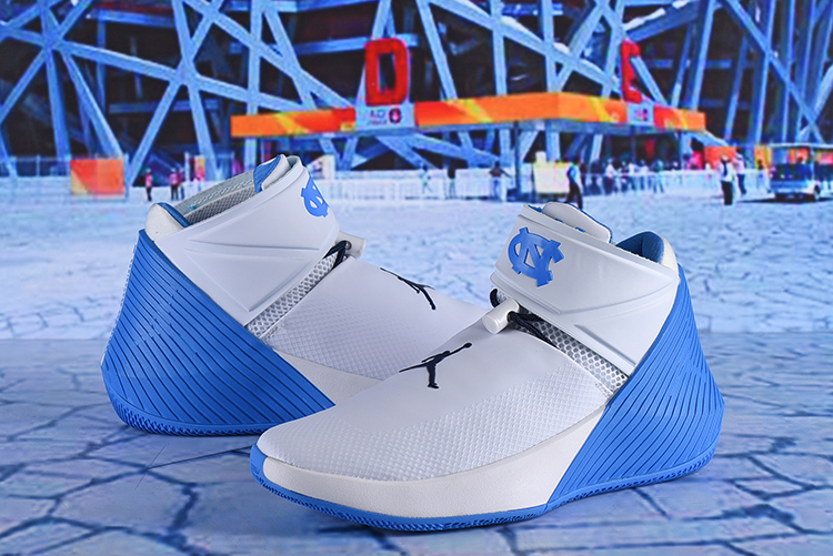 Men Jordan Why Not Zer0.1 White Blue Shoes