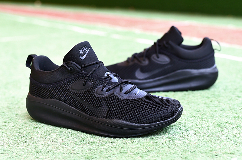 Men NIKE VLALE VII All Black Shoes