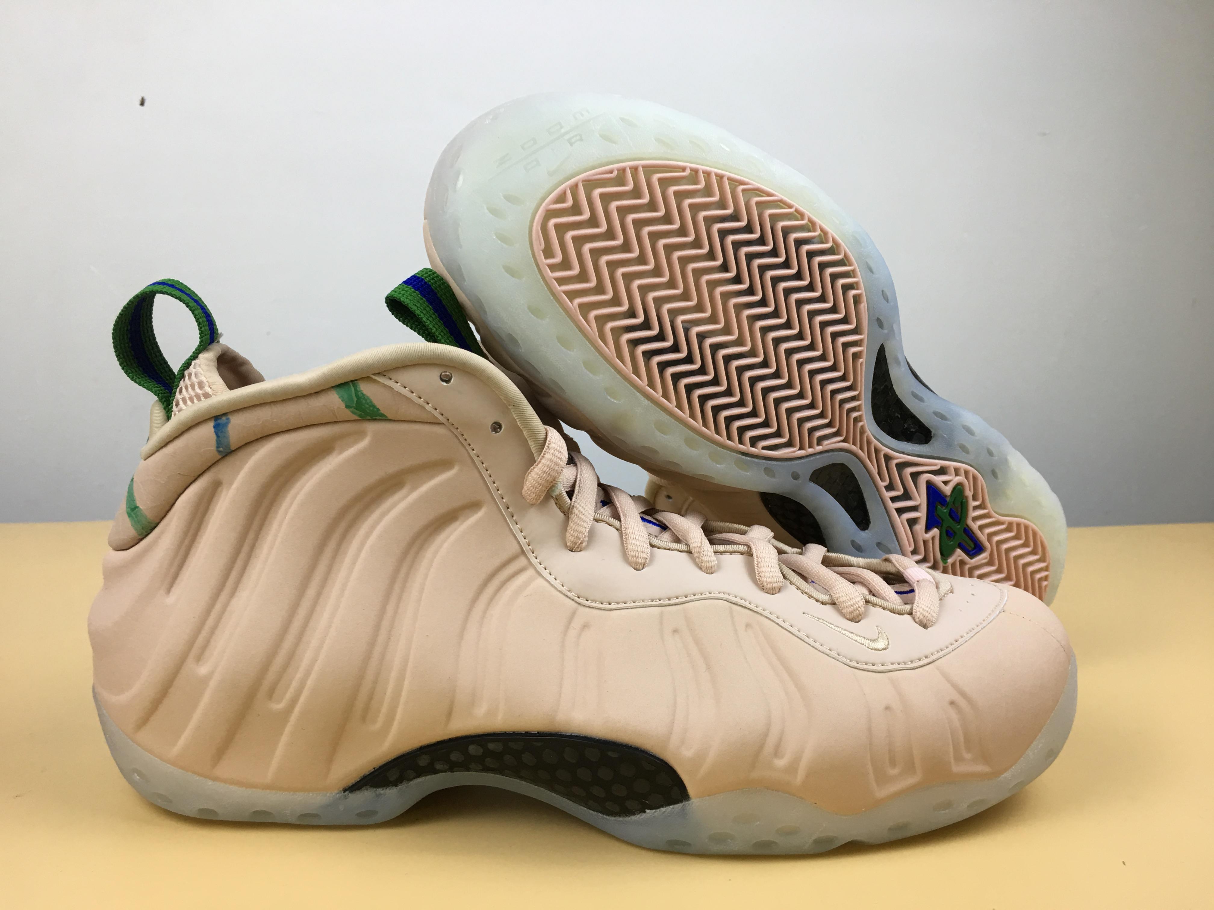 861794959c9 Men Nike Air Foamposite One Particle Beige Black Shoes  18women7203 ...