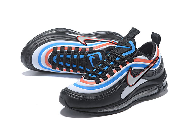 Men Nike Air Max 97 UL '17 SE Black Orange Blue