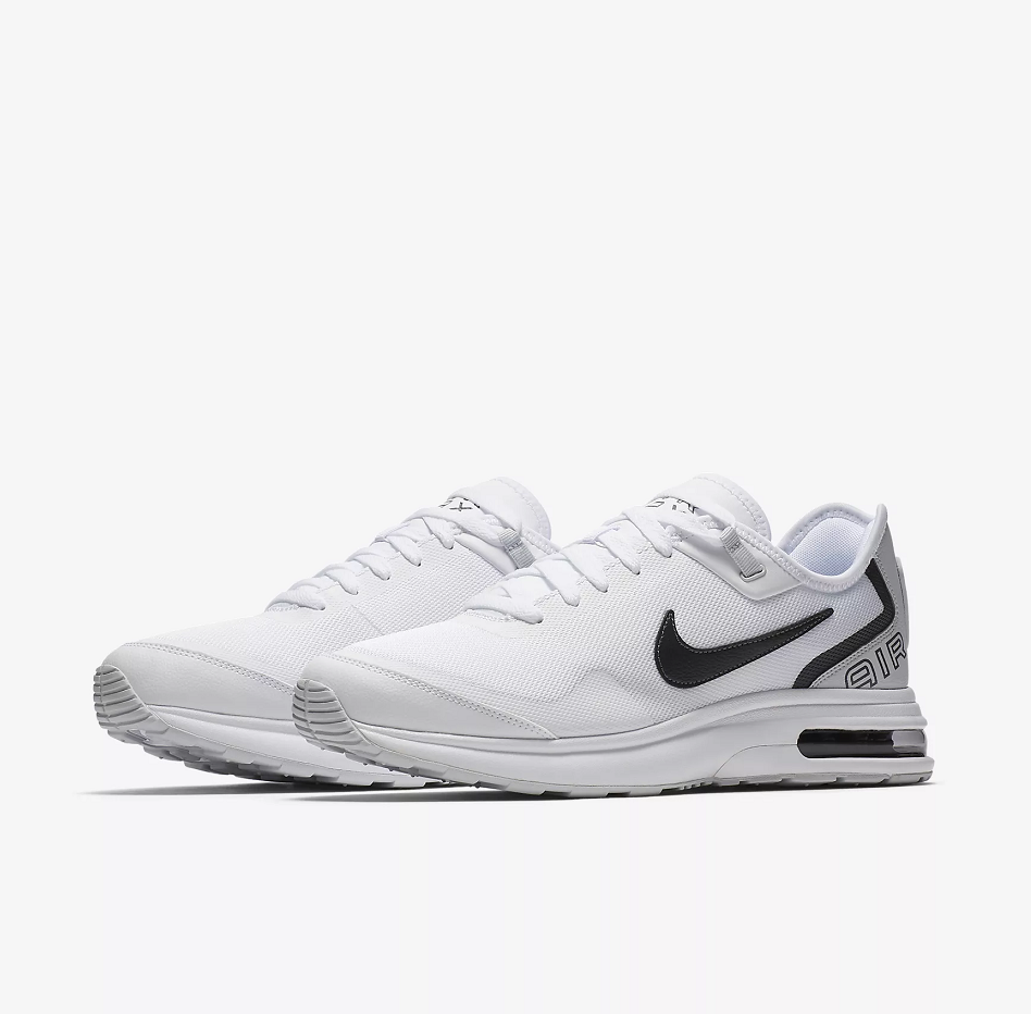 Men Nike Air Max LB White Black