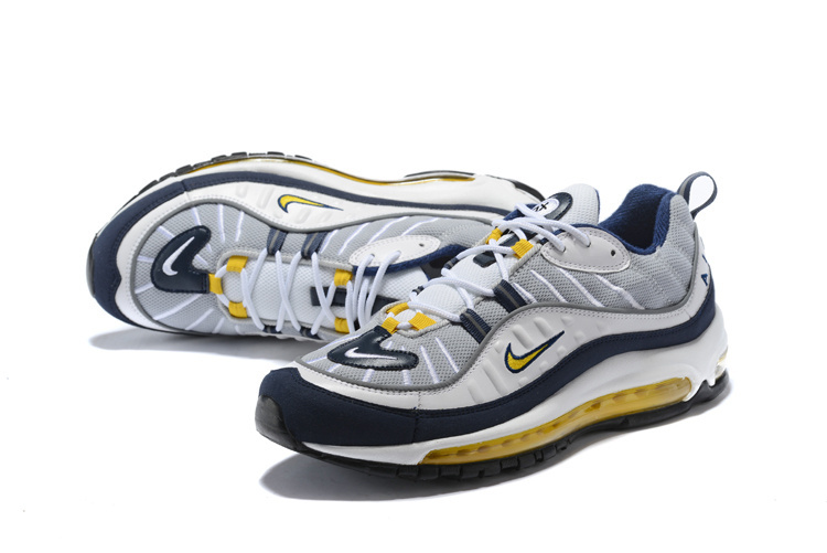 Men Nike Air Max OG 98 Gundam Grey Blue Yellow