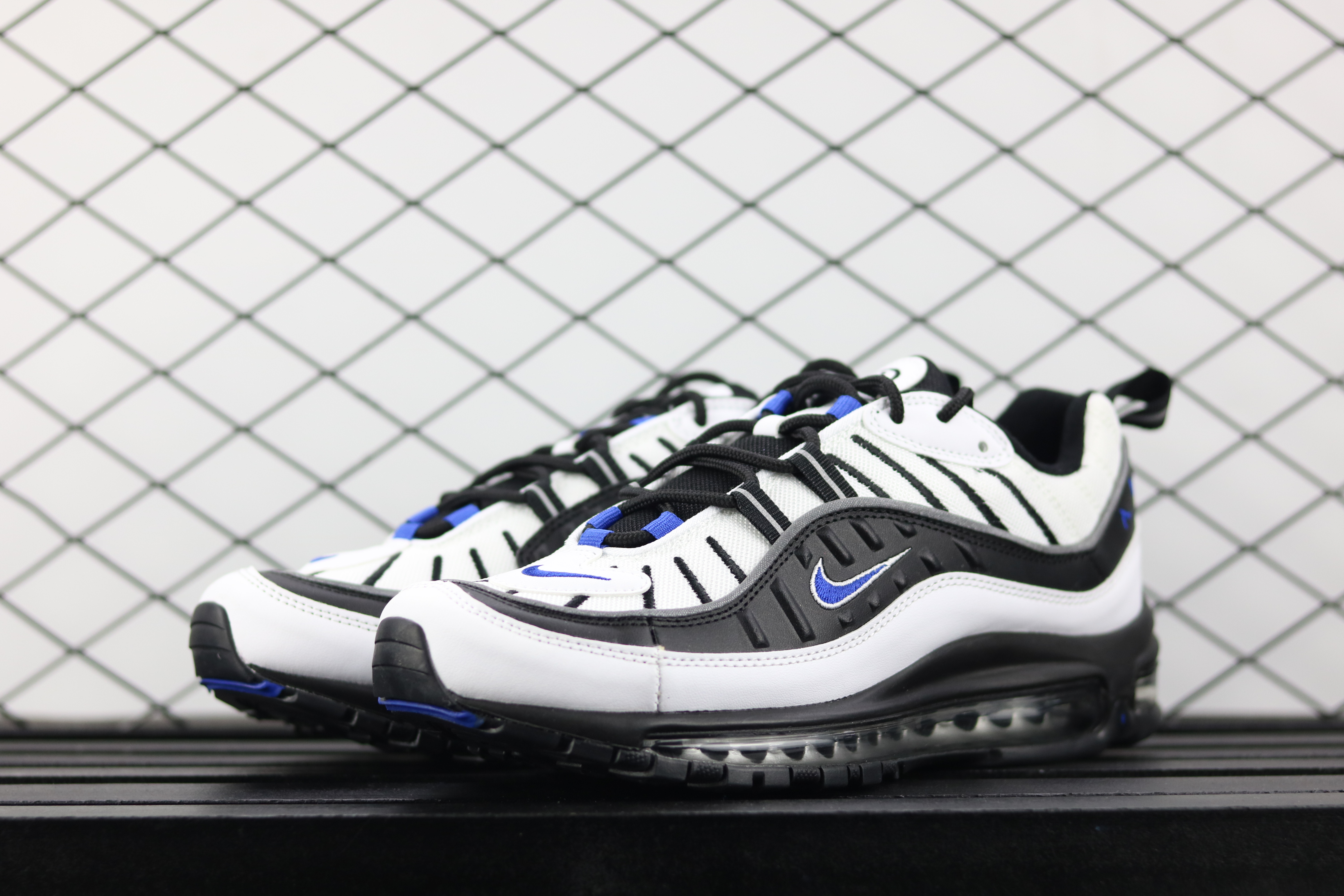 Men Nike Air Max OG 98 Gundam White Black Blue