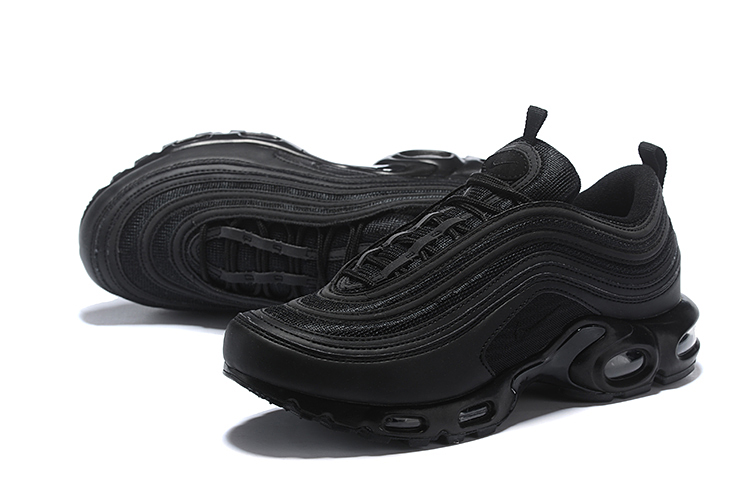 Men Nike Air Max Plus 97 Triple Black