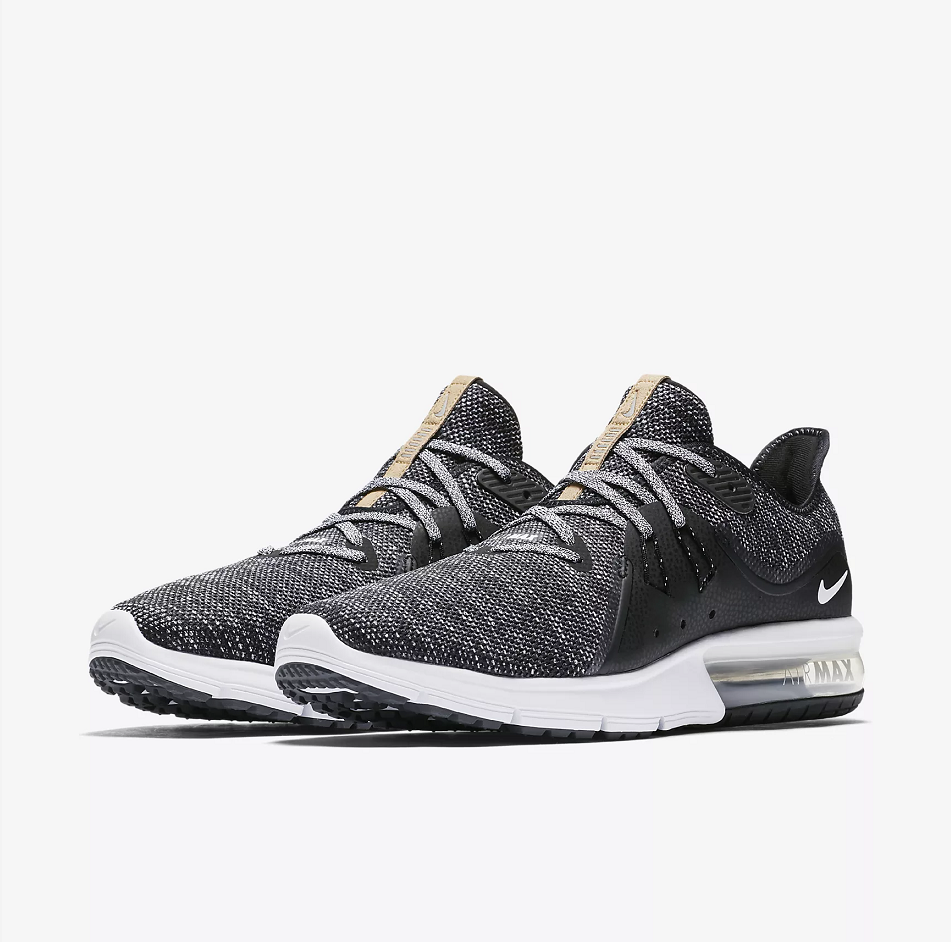 Men Nike Air Max Sequent 3 Carbon Grey