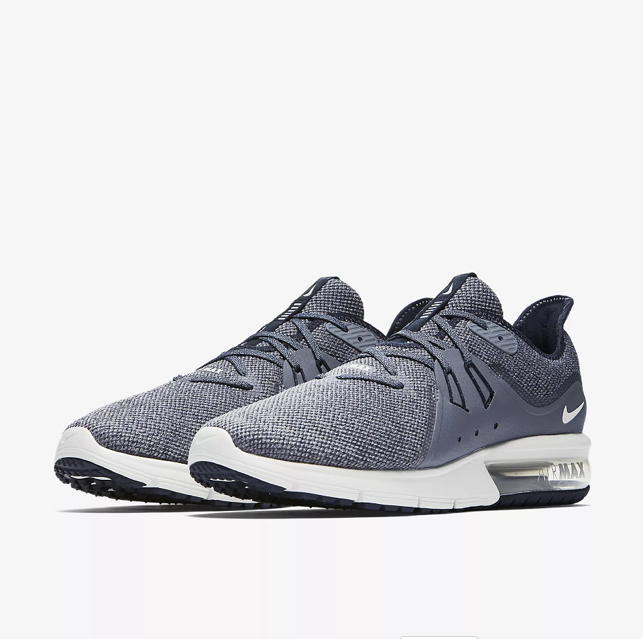 Men Nike Air Max Sequent 3 Grey