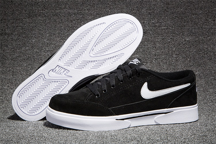 Men Nike GTS TXT Black White Swoosh SB Shoes