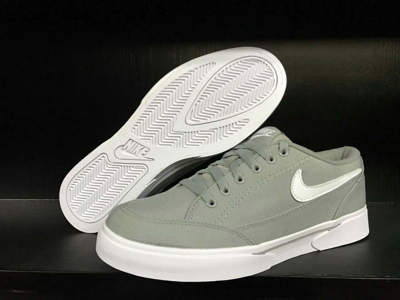 Men Nike GTS TXT Grey White SB Shoes