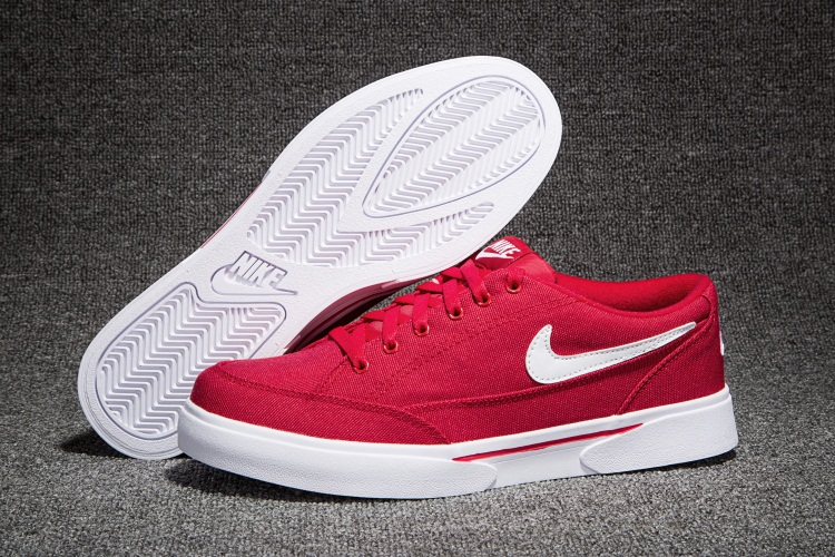 Men Nike GTS TXT Hot Red White SB Shoes