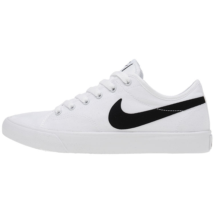 Men Nike GTS TXT White Black Swoosh SB Shoes