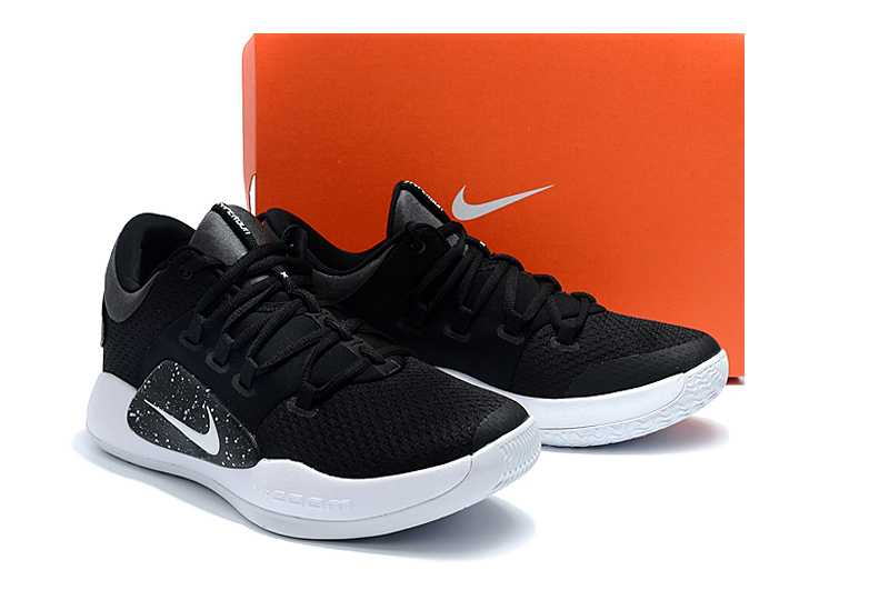 Men Nike Hyperdunk 2018 Low EP Black White Shoes