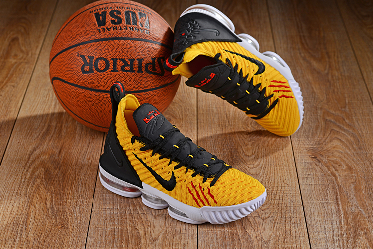 on sale 81b17 6dea8 Men Nike Kevin Durant 11 Bruce Lee Yellow Black Red White Shoes