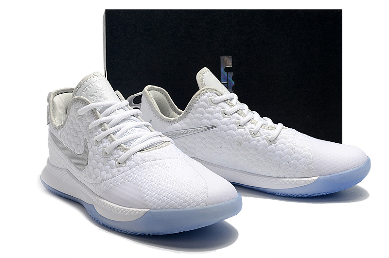 Men Nike LeBron Witness III White Silver Ice Sole Shoes