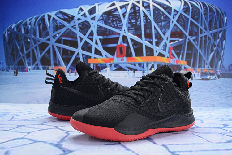 Men Nike Lebron Witness III Black Red