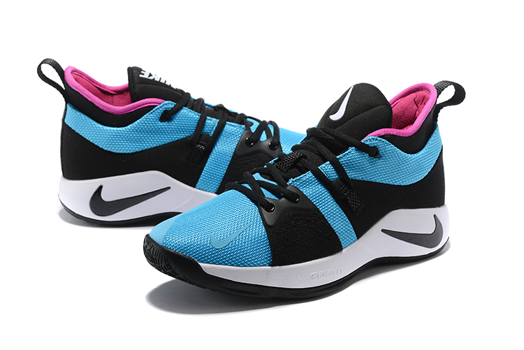 Men Nike PG 2 Blue Black Pink