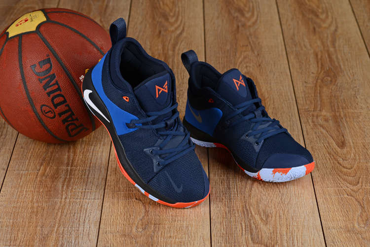 Men Nike PG 2 Royal Blue Orange