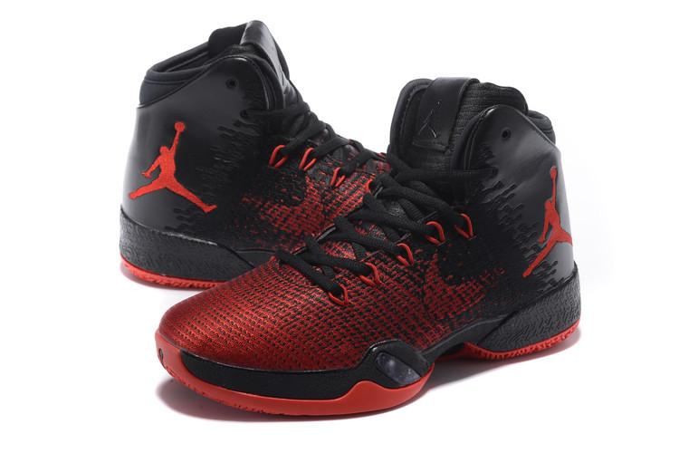 free shipping 16043 690ed Men Air Jordan 30.5 Red Black Basketball Shoes