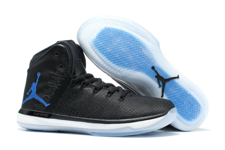 Men Air Jordan 31 Black Blue Shoes