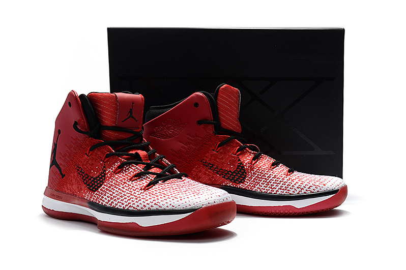 Men Air Jordan 31 Chicago Bulls Red Shoes