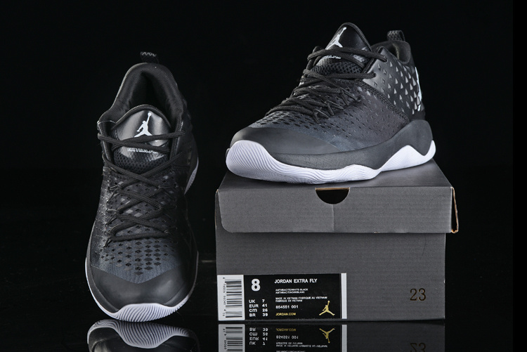 Men Air Jordan Extra Fly All Black Shoes