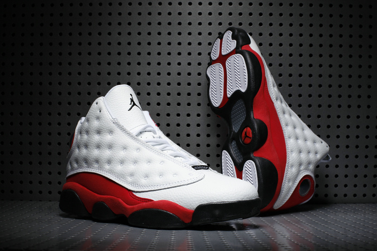 229689790a8 Men Jordan 13 Retro 3M Chicago White Red Black