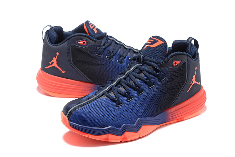 Men Jordan CP3 IX AE Blue Black Red Shoes