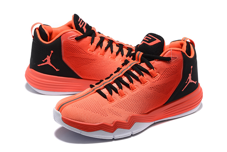 Men Jordan CP3 IX AE Red Black Shoes