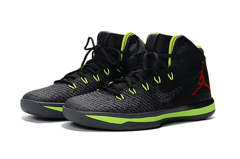Men Jordan XXXI Black Fluorscent Shoes
