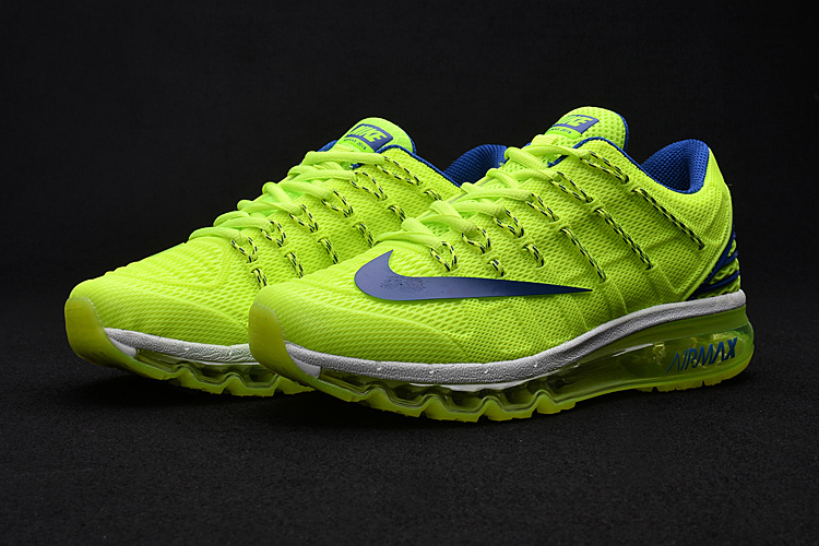 Men Air Max 2016 2 Fluorscent Black Shoes