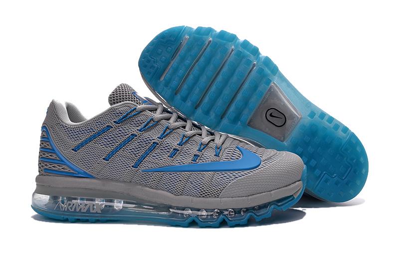 Men Air Max 2016 2 Grey Blue Shoes
