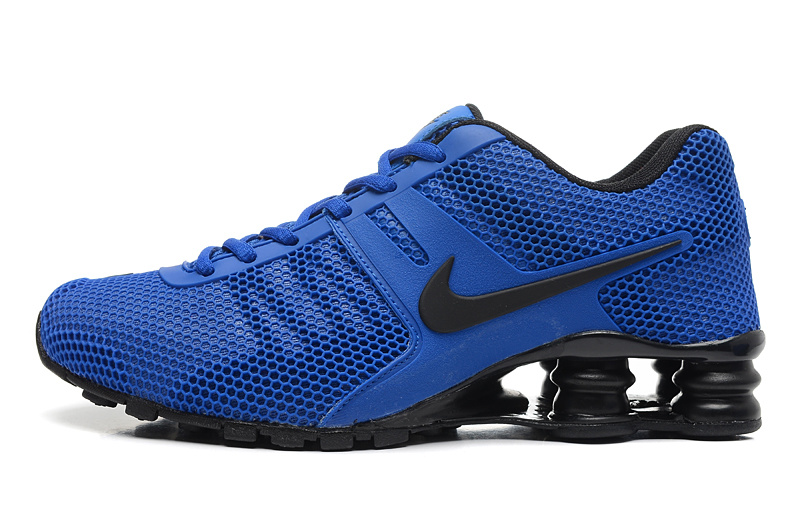 Men Shox Current Deep Blue Black Shoes