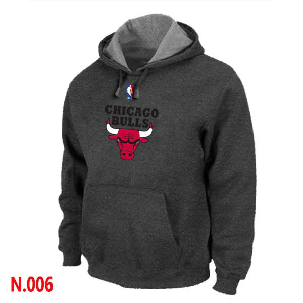 Mens Chicago Bulls D.Grey Pullover Hoodie