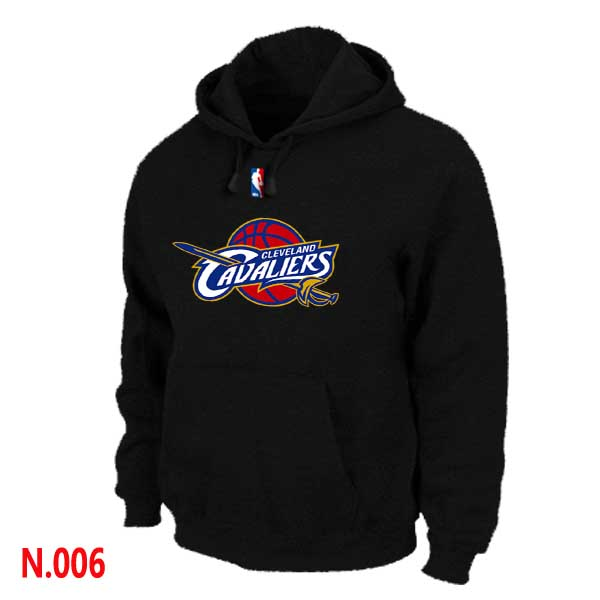 Mens Cleveland Cavaliers Black Pullover Hoodie