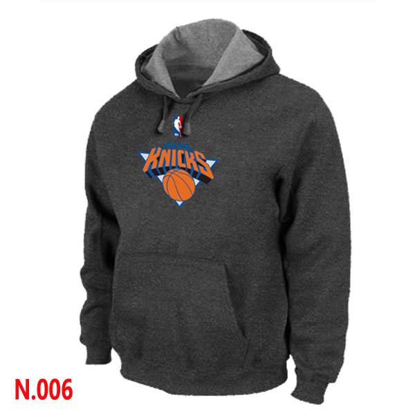 Mens New York Knicks D.Grey Pullover Hoodie