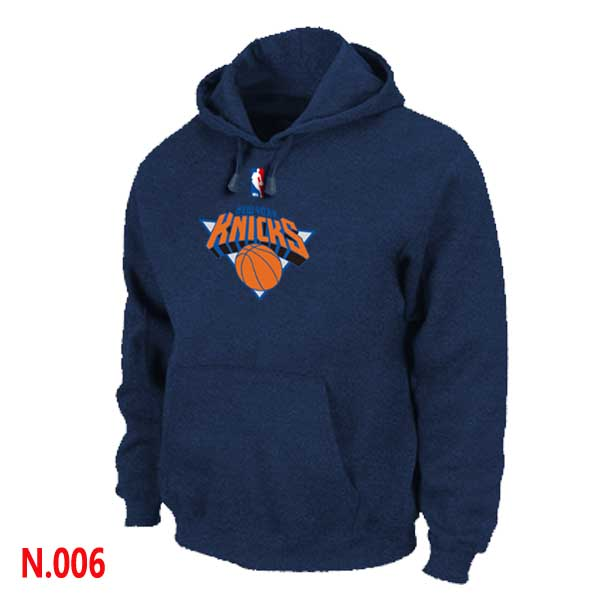 Mens New York Knicks Dark blue Pullover Hoodie