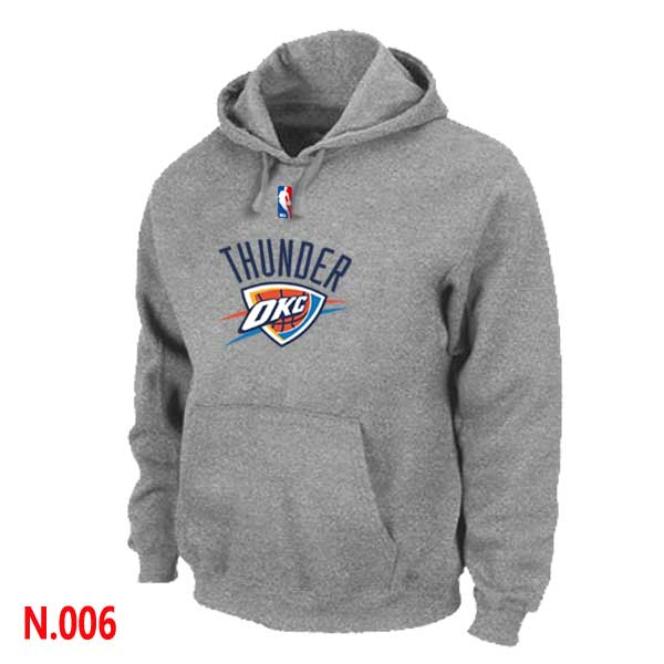 Mens Oklahoma City Thunder L.Grey 2 Pullover Hoodie