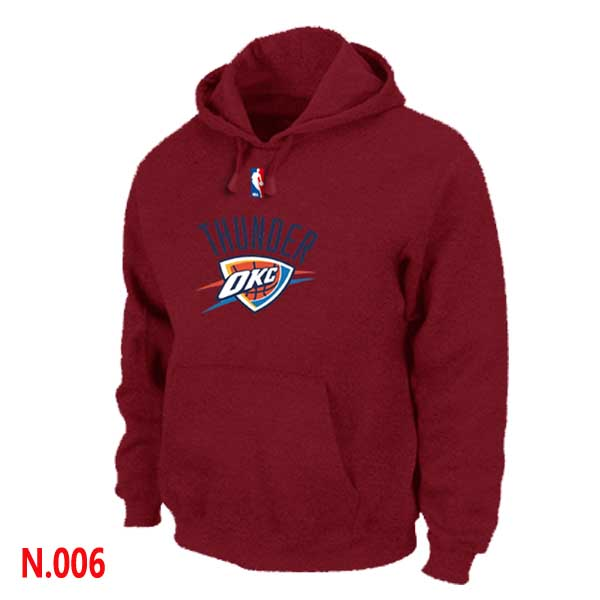 Mens Oklahoma City Thunder Red -2 Pullover Hoodie