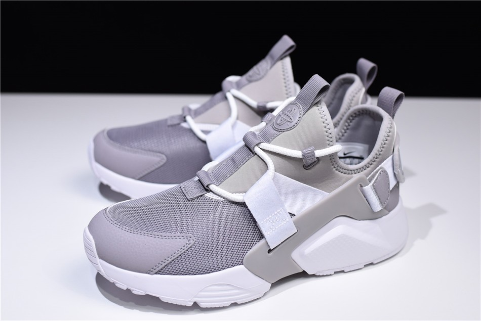 Nike Air Huarache City Low Atmosphere Grey White Casual Shoes