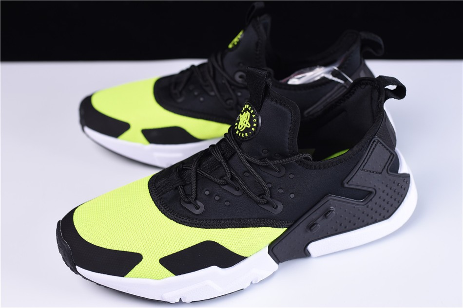 Nike Air Huarache Drift Black Volt Running Shoes
