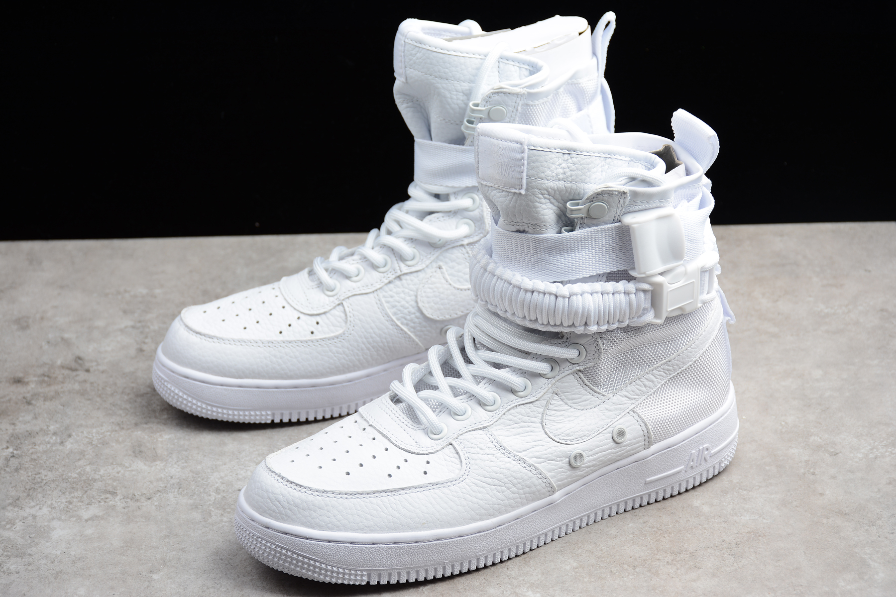 WMNS Nike SF AF1 High Triple White