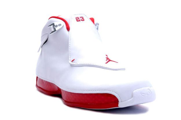 Michael Jordan 18 OG White Varsiyt Red Shoes