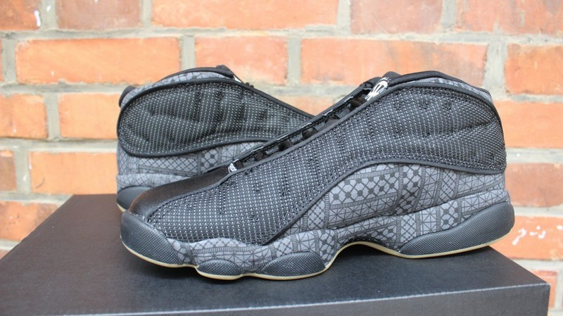 Air Jordan 13 Low Quai Black Shoes