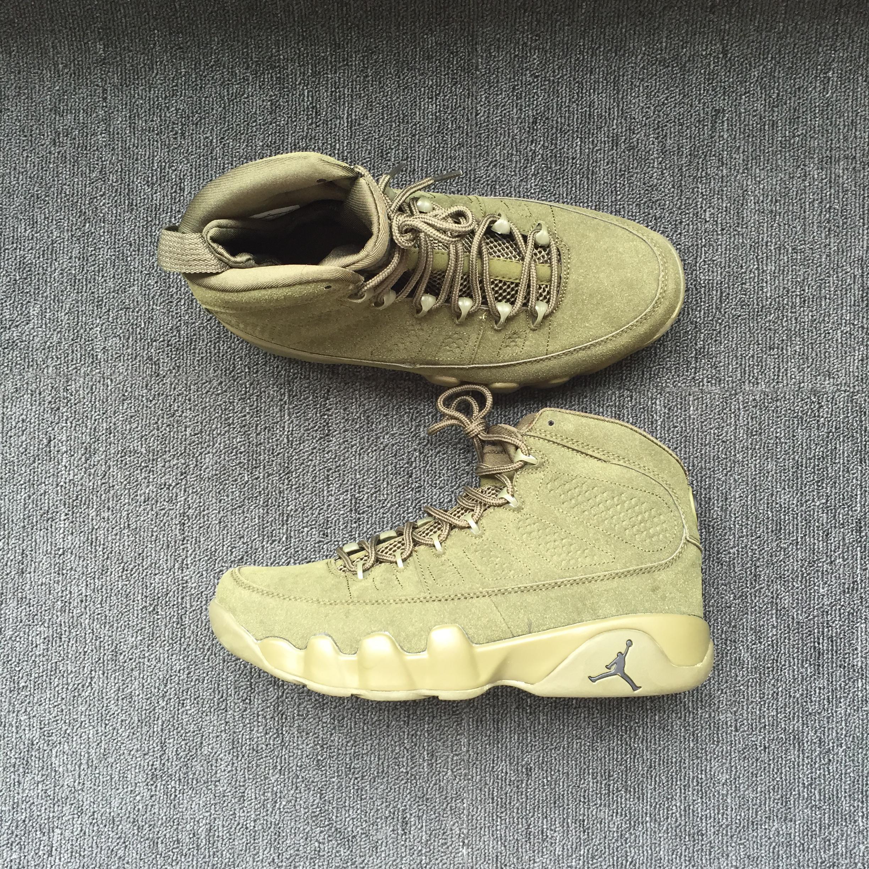 new product 834be 1bf1a ... ireland aliexpress men jordan 9 retro army green shoes 87391 c0e15  d82f1 45230