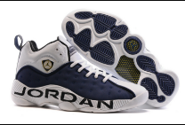 New Jordan Jumpman Team II White Blue