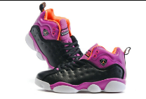 New Jordan Team 2 GS Black Purple Shoes