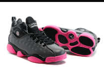 New Jordan Team 2 GS Dark Grey Pink Shoes